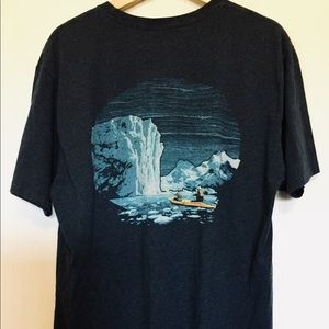 "Eddie Bauer ""River"" Blue T-shirt"